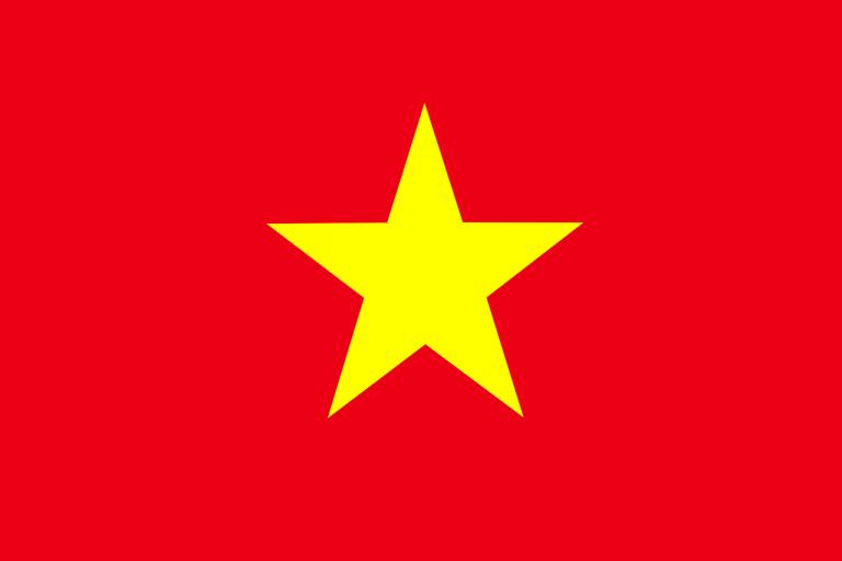 vietnam, flag, vietnamese